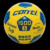 【線上體育】CONTI 3號PVC車縫樂樂足球-S1500L-3-YB