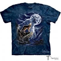 【線上體育】The Mountain 短袖T恤 L號 狼魂月亮 TM-101293.jpg