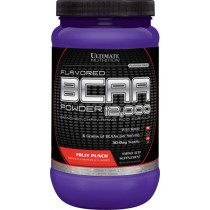 【線上體育】ULTIMATE NUTRITION Flavored BCAA 12,000/Fruit Punch 457g