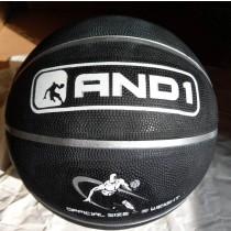 【線上體育】AND1 籃球 B7 黑 #7號球