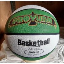 【線上體育】YL 籃球 B7 綠白 深溝 #7號球