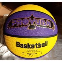 【線上體育】YL 籃球 B7 紫黃 深溝 #7號球