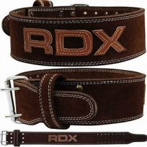 【線上體育】RDX WBL-4PN-M 舉重腰帶 棕色 BELT POWER BROWN-RDX063