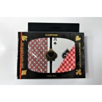 【USPCC撲克】COPAG MASTER PLASTIC PLAYING CARDS POKER SIZE REGULAR INDEX S103049570